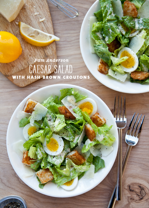Foodie Crush Caesar Salad