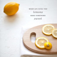Foodie Crush Meyer Lemon Tart