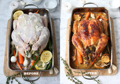 Foodie Crush Spring Roast Chicken