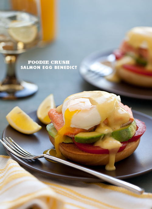 Foodie Crush Salmon Egg Benedict
