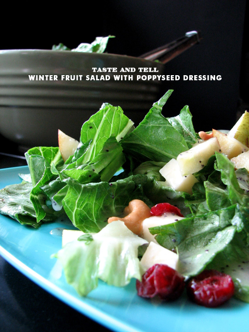 Foodie Crush Taste and Tell Winter Fruite Salad