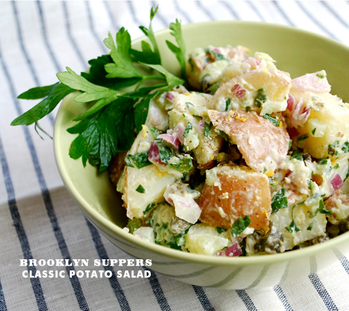 Foodie Crush Classic Potato Salad