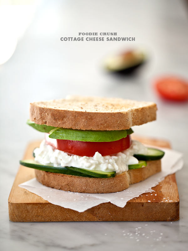 Post image for It's Just a Simple Cottage Cheese Sandwich