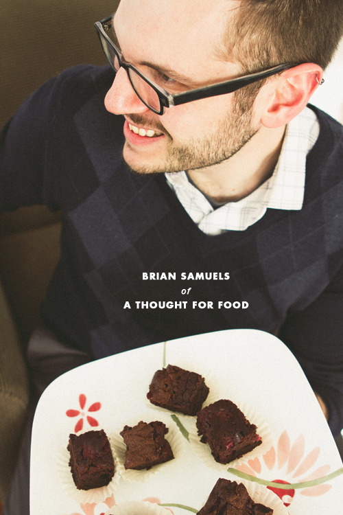 Post image for Crushing On > Interview with Brian Samuels of A Thought for Food