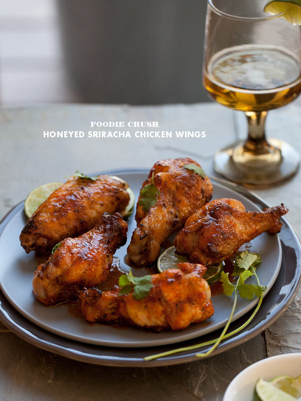 Post image for Friday Faves and Honey Sriracha Chicken Wings