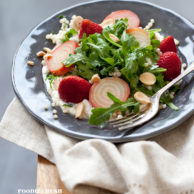 Recipe Pickled Strawberry and Roasted Beet Salad