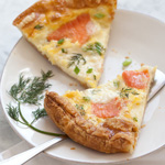 Thumbnail image for Smoked Salmon Quick Quiche for Breakfast or Brinner