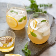 Whiskey Lemonade Recipe from FoodieCrush.com