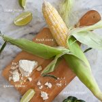Grilled Corn and Pasilla Pepper Salad Recipe from FoodieCrush