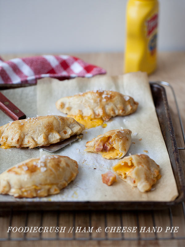 Ham & Cheese Hand Pie FoodieCrush