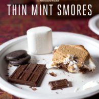 Girl Scout Thin Mint S'mores from FoodieCrush