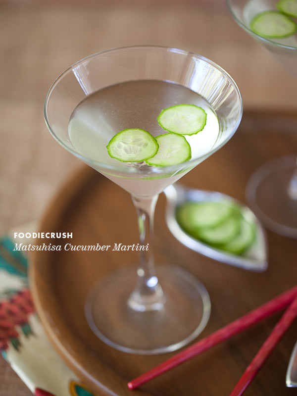Friday Faves and Matsuhisa Martini Recipe
