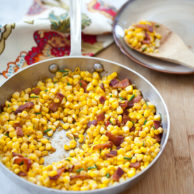 Friday Faves and Smokey Corn with Bacon