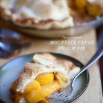 Mountain Fresh Peach Pie Recipe