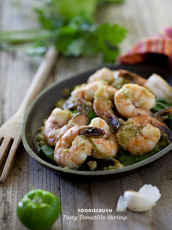 Tasty Tomatillo Shrimp Recipe