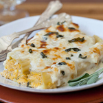 Thumbnail image for Friday Faves and Pumpkin Manicotti