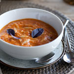 Thumbnail image for Roasted Tomato Basil Soup &#038; a Recipe Roundup