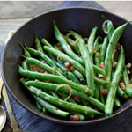 Thumbnail image for Friday Faves and Pancetta and Hazelnut Green Beans