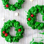 Friday Faves and White Chocolate and Peppermint Christmas Wreath Cookies