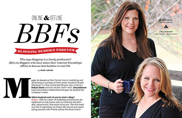 Blogging Buddies Forever || FoodieCrush Magazine