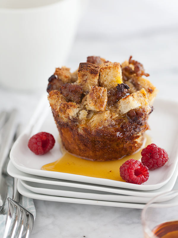 Sausage and Egg French Toast Cups