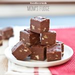The Best Homemade Fudge and a Big Kiss
