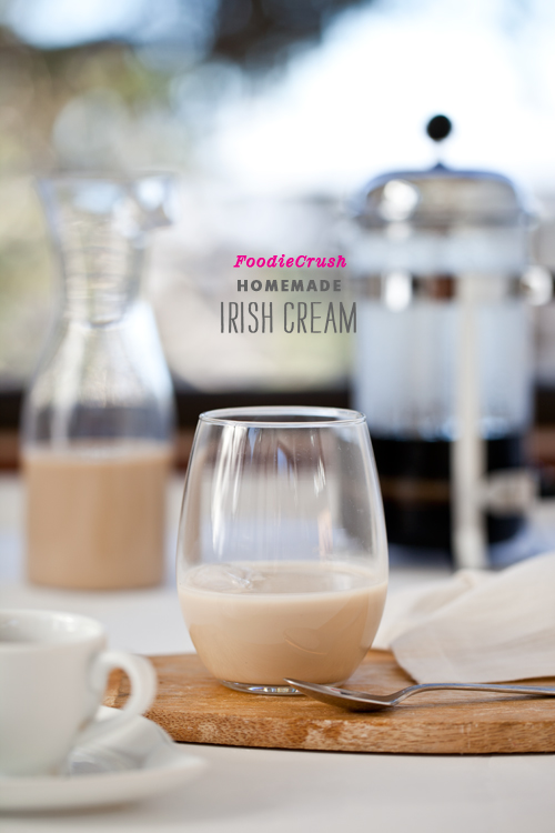 Homemade Irish Cream foodiecrush.com