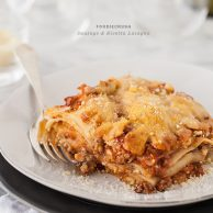 Sausage and Ricotta Lasagna and a Food Blogging Dinner