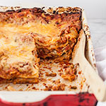 Thumbnail image for Sausage and Ricotta Lasagna and a Food Blogging Dinner