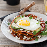 Thumbnail image for Crushing on Muy Bueno Cookbook and Stacked Breakfast Enchiladas Recipe