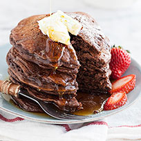 Thumbnail image for Chocolate Pancakes and Friday Faves