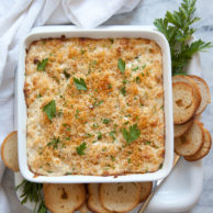 Hot Crab Dip | FoodieCrush.com