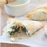 Spinach and Feta Hand Pies Plus Friday Faves