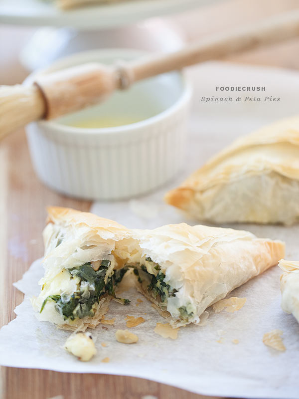 Spinach Feta Hand Pie || FoodieCrush-006