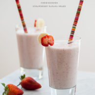 Spring Fever and a Strawberry Banana Milkshake