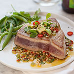 Thumbnail image for Seared Ahi Tuna with Asian Avocado Salsa