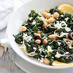 Thumbnail image for Garlicky Swiss Chard and Chickpeas plus a Recipe Girl Cookbook Giveaway