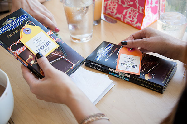 Girl's Brunch Rewards | foodiecrush.com  ##escapewithdarkchocolate and @ghirardelli