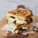 Spinach and Artichoke Grilled Cheese and Grilled Cheese Academy&#8217;s Recipe Showdown