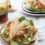 Stewed Chicken Tacos