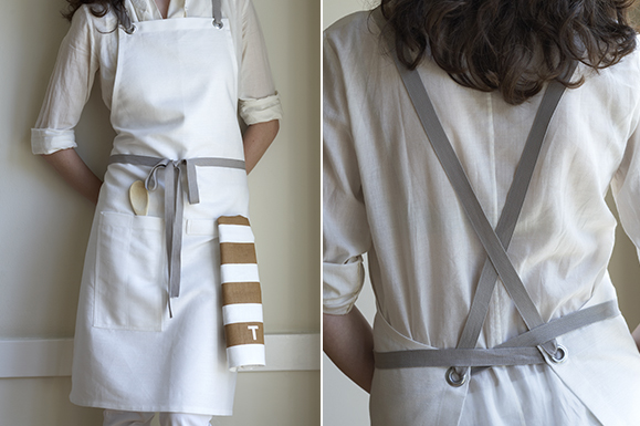 kitchen apron duo