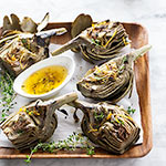 Thumbnail image for Grilled Artichokes with Garlic Butter and Friday Faves