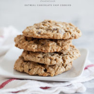 Oatmeal Chocolate Chip Cookies and KitchenAid 5-Quart Stand Mixer Giveaway