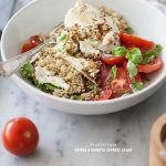 Quinoa and Buratta Caprese Salad and 8 Favorite Whole Food Blogs