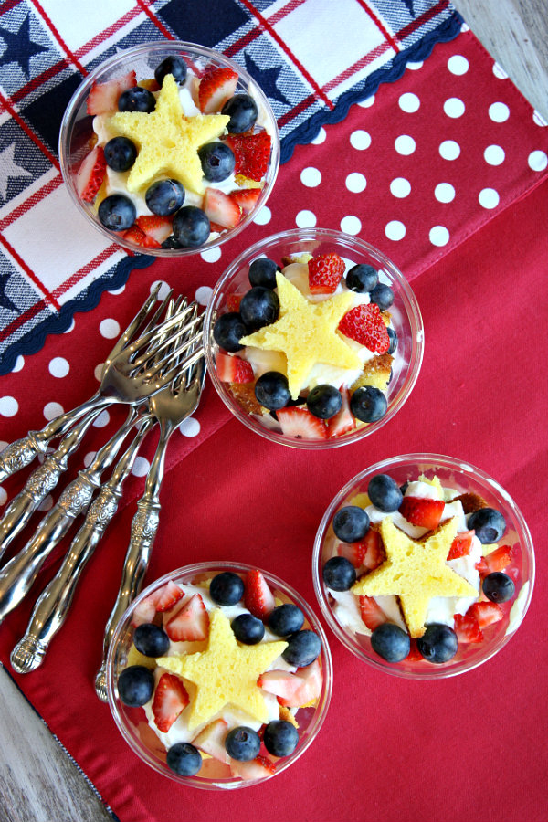 50 Red White and Blue Recipes - foodiecrush