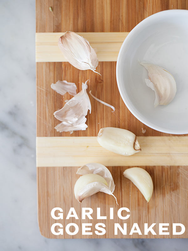 How to Peel Garlic in the Microwave | foodiecrush.com