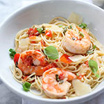 Thumbnail image for Shrimp Scampi Pasta