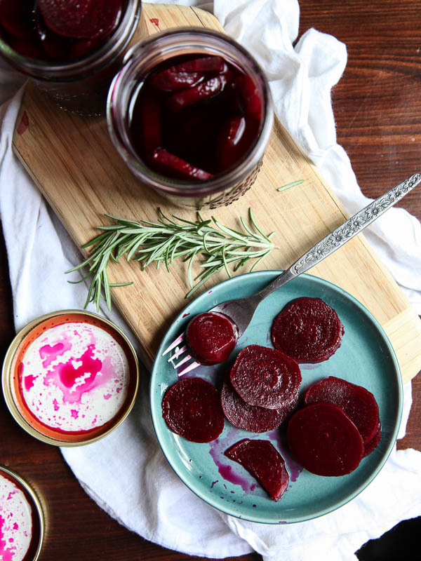Pickled Beets   FoodieCrush.com