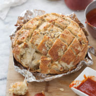 Smoked Mozzarella Pizza Bread and Friday Faves