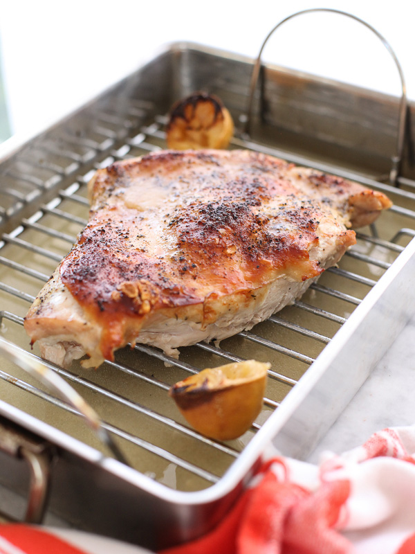 Roasted Turkey Breast with Lemon and Oregano is the perfect dish to ...